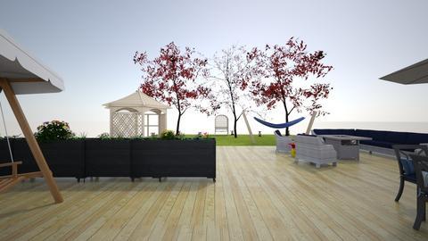 Backyard - by zoeyvonne