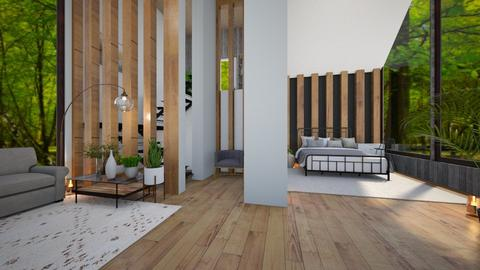 Modern Forest Home - Modern - Bedroom  - by Dragonets of Destiny