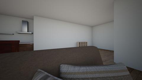 Calland Basement - Living room  - by kcalland