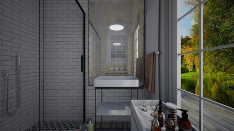 Eclectic_guest bathroom3 - Bathroom  - by lovasemoke