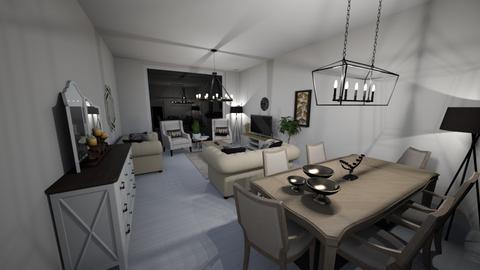 uu - Living room - by Rahaf123bawadri
