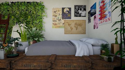 wonderland - Bedroom - by DenaliBTS