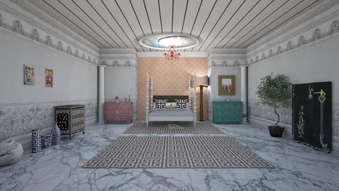 greek key - Modern - Bedroom - by rcrites457