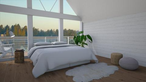 Chalet - Bedroom  - by Thrud45