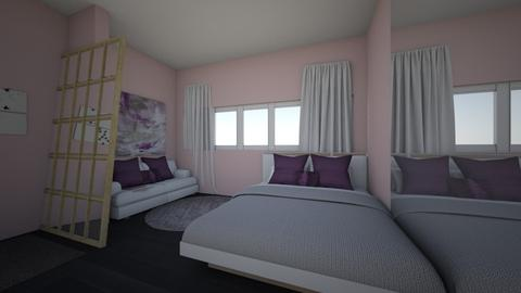 justice zumwalt - Modern - Bedroom  - by zumju25