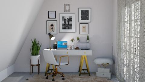 home office  - by milica tanurdzic