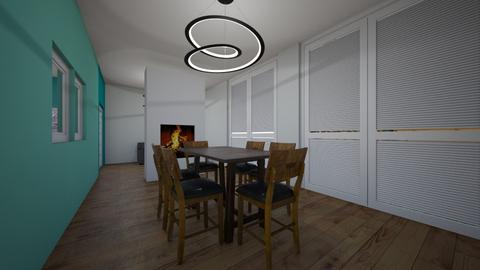 proyecto de casa - Living room - by Uteron