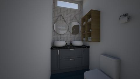 Nathalia Castillo - Classic - Bathroom  - by Gata peligrosa