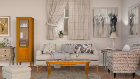 Neutrals - Classic - Living room  - by Sally Simpson