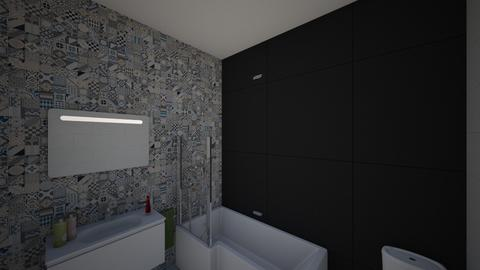 My - Minimal - Bathroom  - by Monster7964