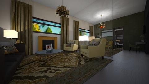 ANOTHER 4 - Eclectic - Living room  - by decordiva1