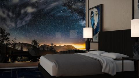 night sky - Bedroom  - by Sirtzuu93