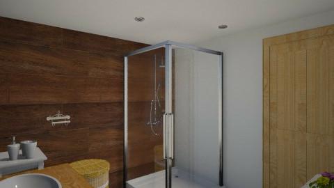 Pequeno banheiro - by qazxwscv1234