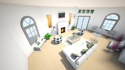White - Living room  - by Dada Mu_50