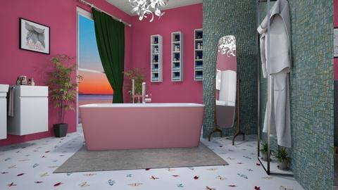 just a weird combination  - Modern - Bathroom  - by zayneb_17