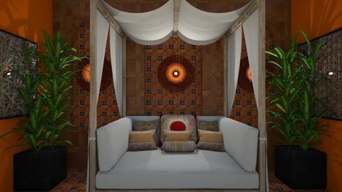 Egyptian - Global - Bedroom - by Irishrose58