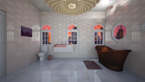 Soft pink Bathroom - Bathroom  - by Hersheys