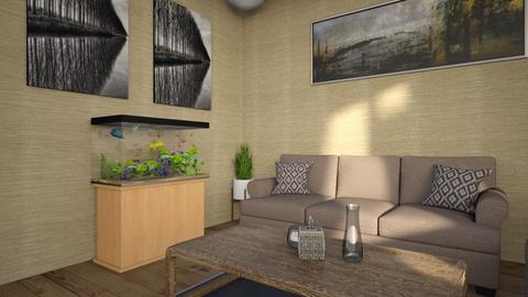 Simple Live - Minimal - Living room - by GalangPratama