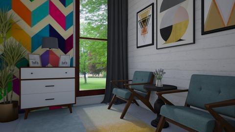 Geometric - Living room  - by Veny Mully