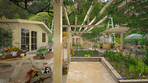 Design 173 Weekend Farmer - Garden  - by Daisy320