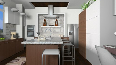Brown Sugar - Modern - Kitchen  - by channing4