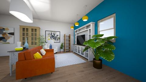 Friday Project 1 - Living room  - by gracynmccullen