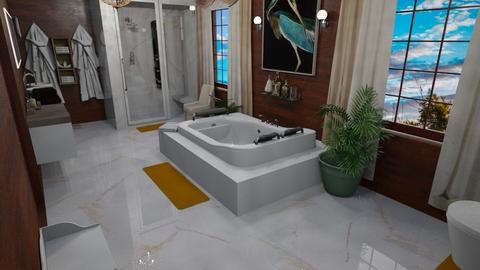 SpgCty Mstr Bath - Modern - Bathroom  - by alonatech_2nd