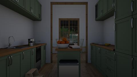 family kitchen - Kitchen  - by joetee