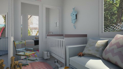 Woonkamer Nursery - Kids room  - by lauren_murphy