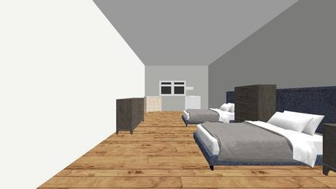 Room design Kicker - Bedroom  - by Roberton