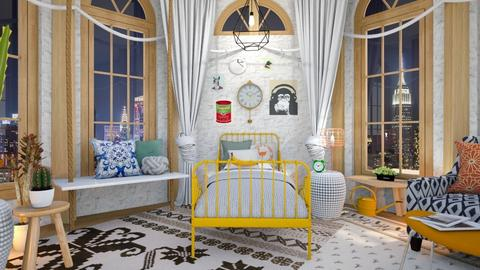 Eclectic Bedroom - Bedroom - by mmehling