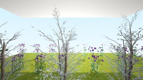 My green house - Garden  - by cutebunnydolphine