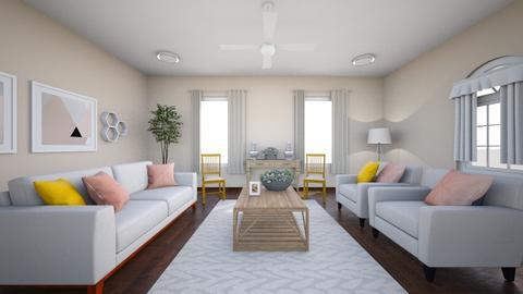 asthetic livingroom - Living room  - by runnninggirl04