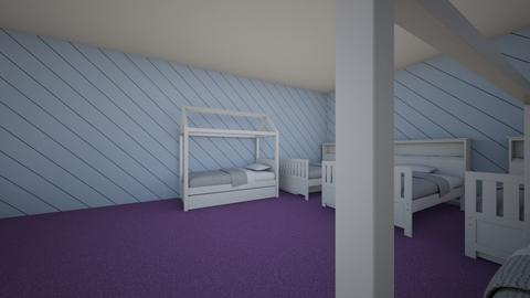 the room for 5 girls - Kids room - by lilyshomestyling game