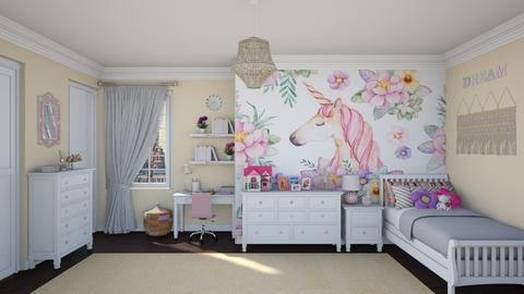 Bedroom - Kids room  - by Larcho1996