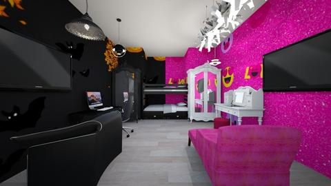 twin - Glamour - Bedroom - by the ice magical unicorn