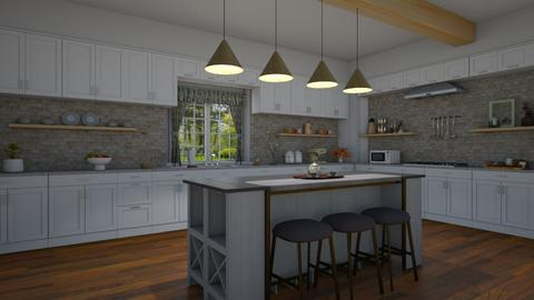 Farm house kitchen - by milica tanurdzic