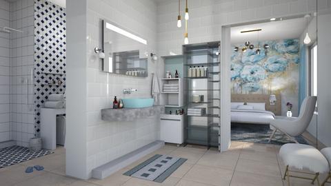 M_ B and B - Bathroom  - by milyca8