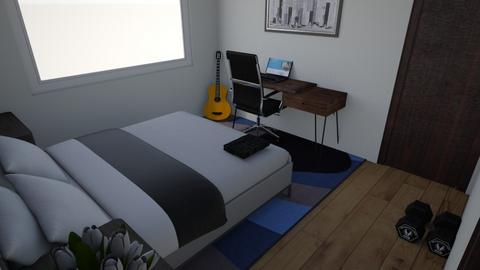 mi habitacion ellian - Minimal - Bedroom  - by ellianaz_1