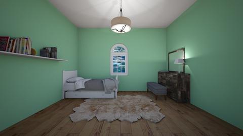 Olive Branch Room  - Minimal - Bedroom  - by rubyg3201