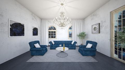 Chandelier on the top - Living room  - by babucka