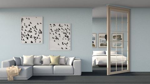 Beach - Modern - Living room  - by okei_imdone