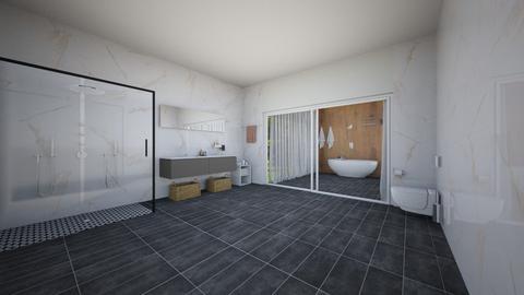 Indoor outdoor bathroom - Bathroom  - by NGU0008