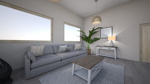 Sala - Living room  - by Monica Saucedo