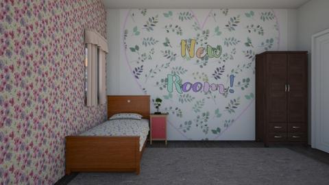 NEW ROOM - Bedroom  - by Pheebs09