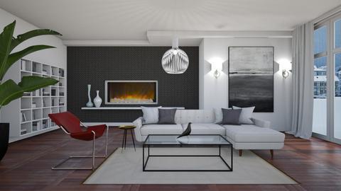 Modern _ Minimal  - Modern - Living room  - by janip