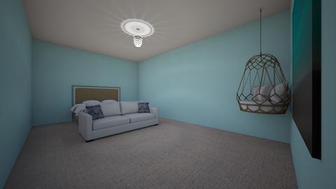 Greek Bedroom Challenge - Bedroom  - by BubbleSloth
