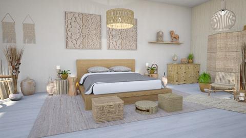 feng shui bedroom - Bedroom  - by Moonpearl