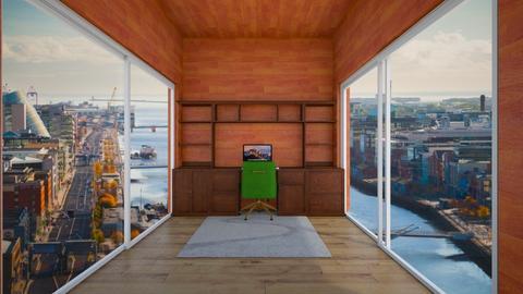 study - Office  - by MomoBeag