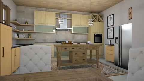 kitchen 9 - Country - Kitchen  - by steker2344